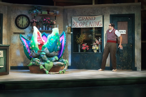 Jeremiah James stars as the love-struck Seymour in 'Little Shop of Horrors.'
