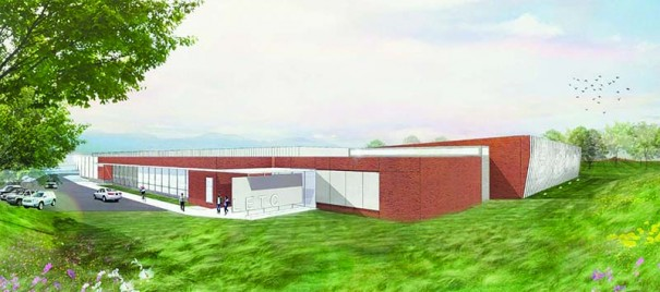 A $20 million training center on the BRCC campus will serve the sheriff's office and Henderson County municipalities. CLARK NEXSEN ARCHIECTS