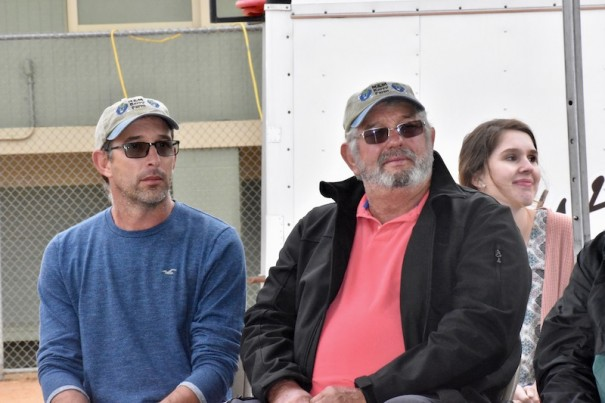 Mike Pack Jr. and Mike Pack Sr., who operate M&M Berry Farm, were honored as Farm City Day Farmers of the Year.