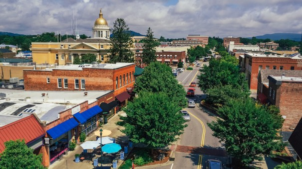 Downtown Hendersonville attracted more than $2 million in investment. [PHOTO BY SAM DEAN]