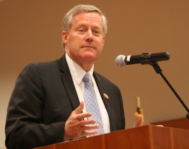 U.S. Rep. Mark Meadows chairs the House Freedom Caucus [FILE PHOTO]