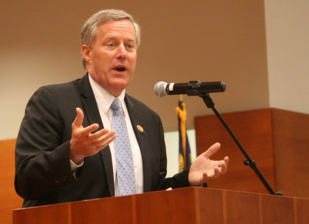 U.S. Rep. Mark Meadows, shown in a Lightning file photo, was criticized in a House Ethics Committee report for his handling of sexual harassment complaints against his chief of staff.