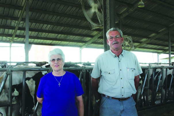 Mary Louise Corn and Billy Johnston are two of the five Johnston siblings that have put Tap Root dairy on the market for $26.5 million.