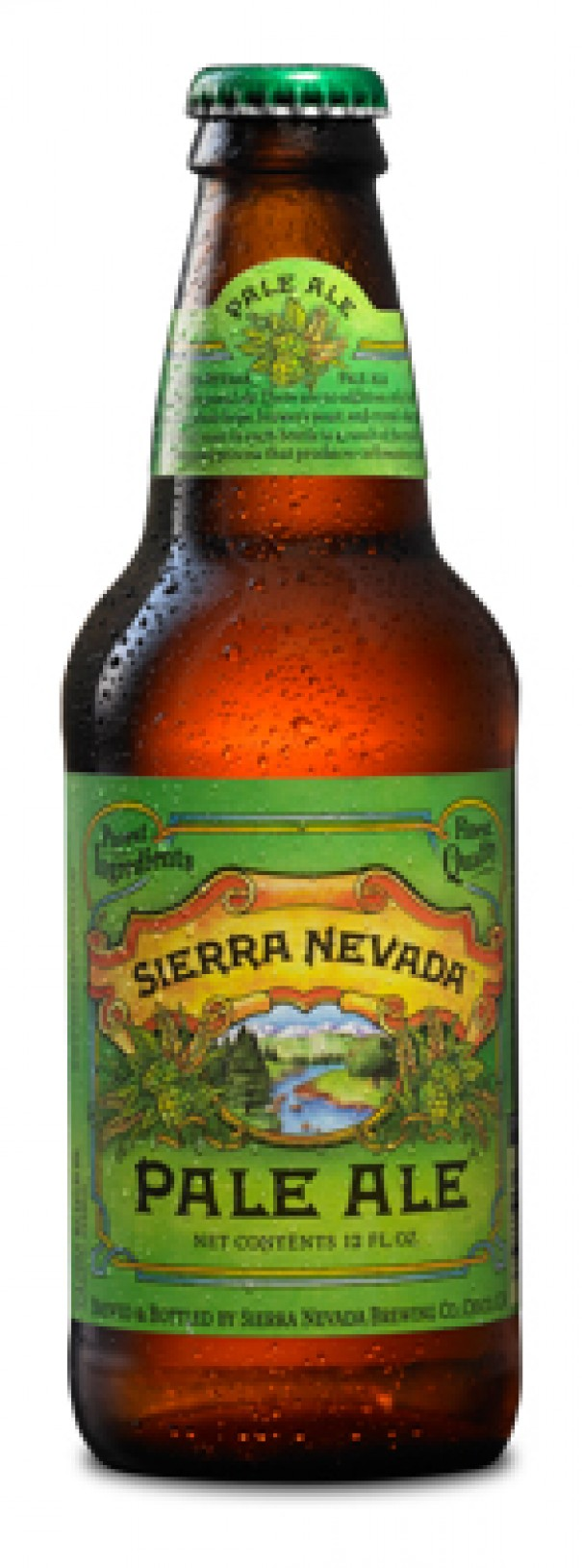 The name Mills River will be added to the line across the bottom of the label, which now says Brewed and bottled by Sierra Nevada Brewing Co., Chico, Calif. [Photo by Sierra Nevada Brewing Co.]