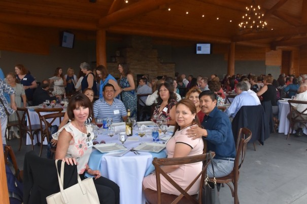 Pardee UNC Health Care hosted a service appreciation banquet to honor 122 employees June 25 at Point Lookout Vineyard.