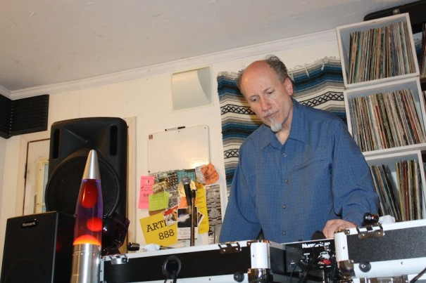 Rob Tolleson spins vinyl and places interviews of jazz and rock greats in his 'Spinterviews'