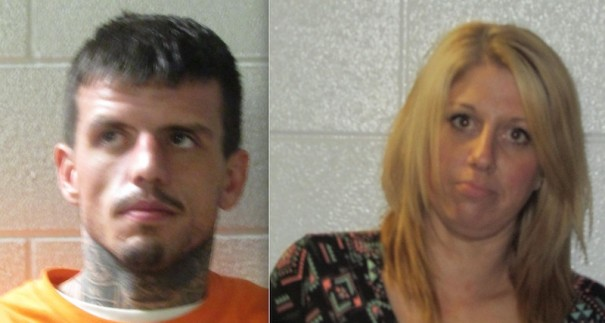 The sheriff's office are seeking Cameron Gregory Sellers and Christina Noelle Whittington.
