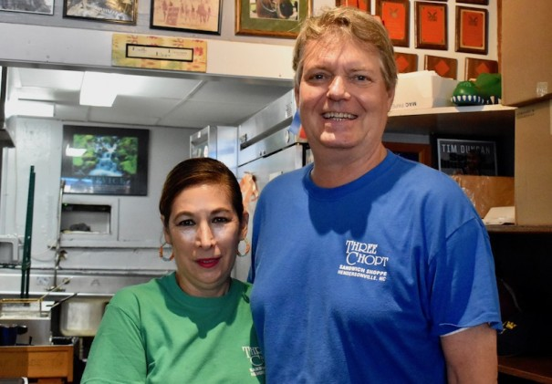 Rosy and Matthew Rogers have extended hours at Three Chopt Sandwich Shoppe into the evening.