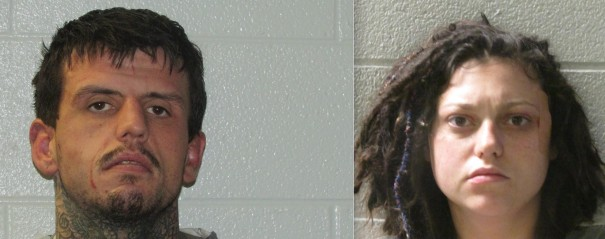 Cameron Sellers and Whitney Jean Hollifield were charged after high-speed chase.