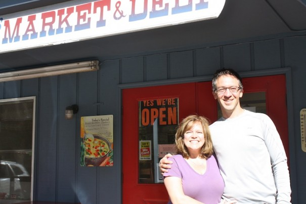Shannon and Dustin Zlacki are the new owners of Dean's Deli in Flat Rock.