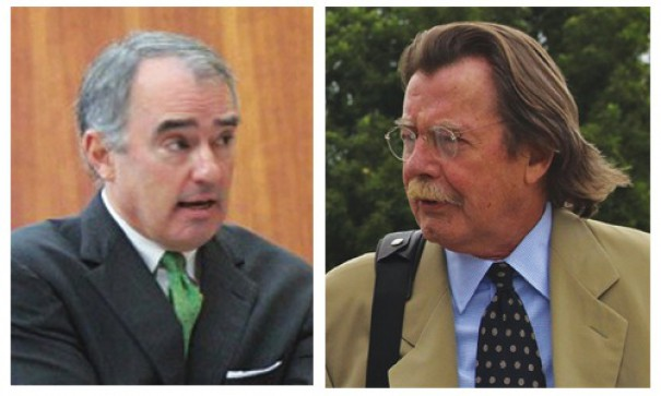 Scott Stevenson, the attorney for Dr. Michael Rosner, and plaintiff's attorney Wade Byrd were back in court in January.