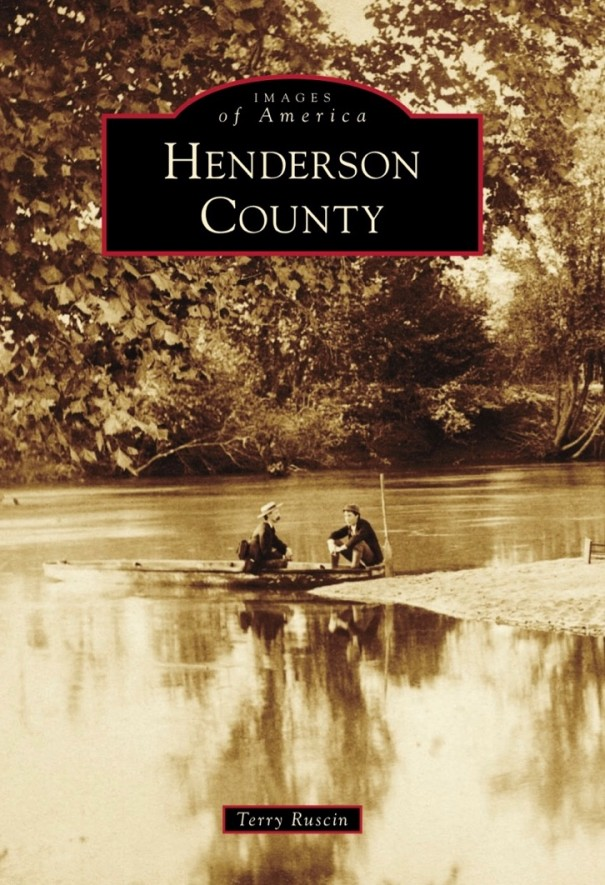 Terry Ruscin will present a slide show on his new book of early Henderson County images at the Historic Courthouse on Sept. 15.