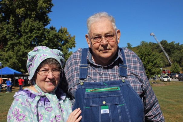 Mary Lois and Theron Maybin were honored as Farmers of the Year at Farm City Day.