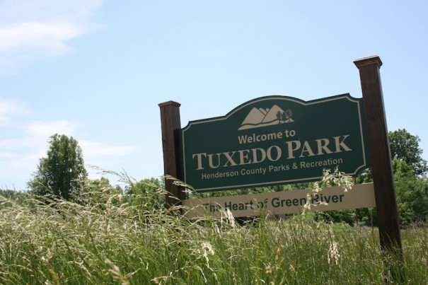 Henderson County had applied for a grant for Tuxedo Park work.