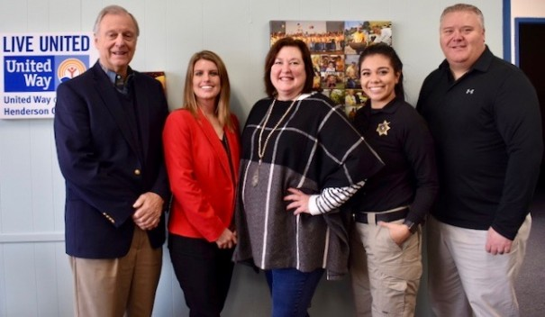 New United Way board members are Tom Murrill, Trina Stokes, Lisa Richmond, Stephanie Barbosa and Michael Willey. Not pictured is Hector Marmolejo.