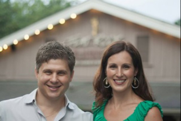 Flat Rock Playhouse patrons are invited to toast Vincent Marini and Erin Mosher on Sunday, Aug. 10.
