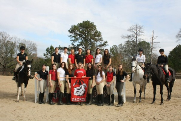 The University of Georgia eventing team is among the collegiate teams competing in the FENCE Horse Trials April 12-14.