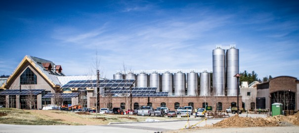 Sierra Nevada Brewing Co. in Mills River. [PHOTO BY PAULA ROBERTS]