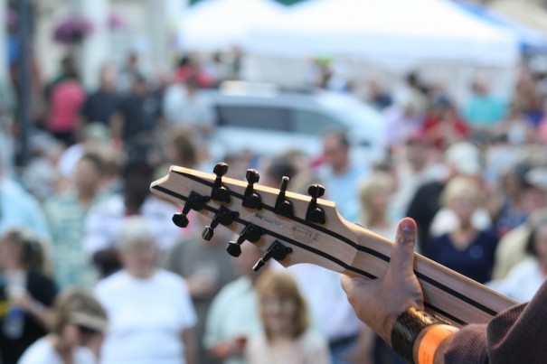 Rhythm & Brews concert attracted a big crowd on Thursday night.