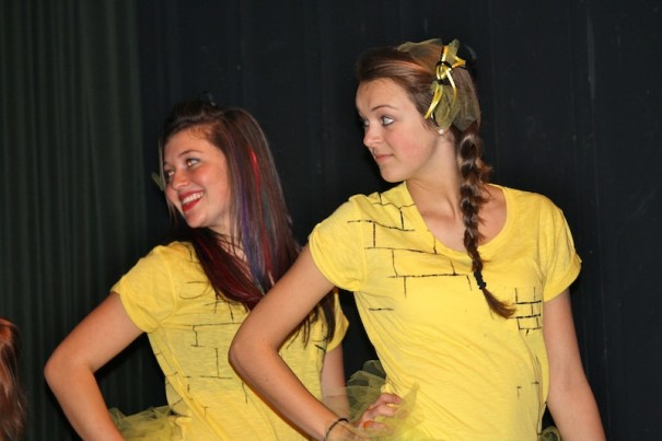 Yellow Brick Dancers perform.