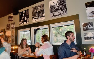 Camp industry owners and directors enjoyed a preview dinner at Starr Teel's new Campfire Grill.