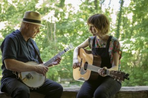 David Holt performs with Molly Tuttle, who be featured on this season's David Holt's State of Music.