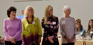 Susan Bullard, Sally Massagee, Pam Laughter and Pat Whiteside were honored by the Pardee Hospital Foundation as Women of Hope.