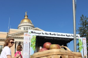 The 68th Annual North Carolina Apple Festival opened on Friday.