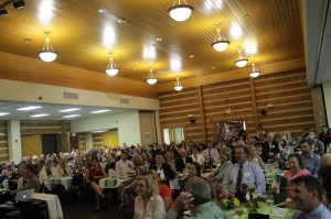 A crowd of 270 people turned out to honor five 2017 Education Hall of Fame inductees.