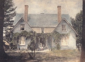 The Killarney house prior to the Richard Sharp Smith renovation in 1908.