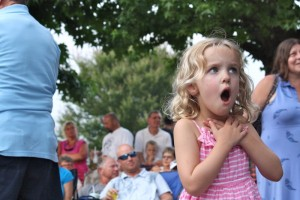People of all ages enjoyed bluegrass music by Balsam Range.