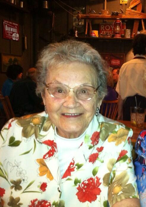 Mildred Burlett, 90,